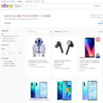 [eBay Plus] LG V30+ $491.30 (+ R2-D2 Droid for $2), LG V40 $797.30 Delivered @ Mobileciti eBay