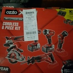 Ozito Power X Change 18V Lithium Cordless 6 Piece Kit $199 @ Bunnings (Selected Stores)
