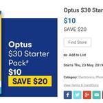 Starter Packs: $30 Optus 35GB - $10 | $10 amaysim 1GB - $2 | $30 Vodafone 35GB - $15 @ Big W