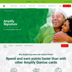 St. George Bank Amplify Signature Visa $179 Annual Fee 1st Year with 90,000 Qantas Points ($4,000 Min Spend within 90 Days)
