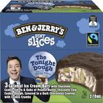 50% off Ben & Jerrys Pint Slices Ice Cream 3 Pack $5.50 @ Woolworths