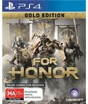 [PS4, XB1] For Honor Gold Edition $24 C&C /+ Delivery @ JB Hi-Fi