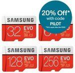 Samsung EVO Plus MicroSD 128GB $23.96 Delivered @ Apus Auction eBay