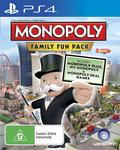 [PS4] Monopoly Deluxe Edition $12, [XB1] Hasbro Family Fun Pack $16 + Delivery ($0 with Prime/ $49 Spend) @ Amazon AU