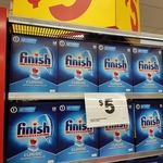 [QLD] Finish Classic Dishwashing Tablets $5 68pk @ The Reject Shop (Mount Ommaney)