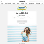 [UNiDAYS] 10% off Catch (Can Stack with Gift Cards) @ UNiDAYS
