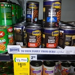 1/2 Price Bush's Best Country Style Baked Beans 454g $1.25 @ Woolworths
