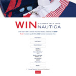 Win 1 of 4 Summer Packs Worth Up to $500 from Nautica