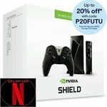 NVIDIA Shield TV with Controller (+ $30 Netflix E-Gift Card) $246.40 + Delivery ($0 with eBay Plus) @ Futu Online eBay