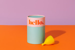 Yellow Hello Menstrual Cups $32.56 for 2 (50% off) + Shipping @ Hello Cup