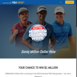 Win $1,000,000 for a Hole-in-One in the 16th Hole at RACV Royal Pines Resort, Gold Coast (Travel Not Included)