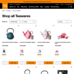 20% off All Teas (from $8) & Teawares (from $1.60) in-Store & Online, Free Delivery with $70 Order @ T2