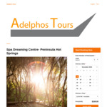 Transport from Melbourne to Peninsula Hot Springs Spa Dreaming + Entry $135.2 (20% off) @ Adelphos Tours