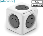 Allocacoc 5-Outlet PowerCube $5 (Was $36.21) + Shipping ($0 with Catch Club & $45 Spend) @ Catch