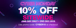Priceline - 10% off Sitewide