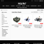 20%+ Off on FPV Drones: Sector132 3'' 4S 4K/1080P FPV Drones USD $161.99, & Extra 10% off Storewide @ HGLRC
