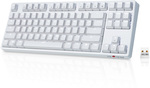 Velocifire TKL02WS Wireless Backlit  White Version Mechanical Keyboard  US $49.59 (~AU $71) Delivered @ Velocifire