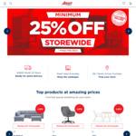 25% off Storewide @ Amart Furniture