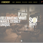 20% off Beer and Cider Cartons + Free Delivery @ Sydney Brewery