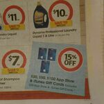 15% off Apple App Store & iTunes Gift Cards (Excludes $20) @ Coles