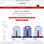 4 Shirts for $159 @ TM Lewin (Including Some Non-Iron)