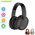 [eBay Plus] Ausdom M09 Bluetooth Foldable Over-Ear Wired Wireless Headphones $9 Delivered @ edragon eBay