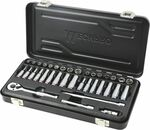 Mechpro Blue Socket Set 1/4in Drive Metric 36pc - $29 (Was $59) @ Repco