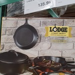 Lodge 5 Piece Cast Iron $135.99 @ Costco (Membership Required)