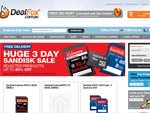Dealfox's Massive Sandisk Sale - (ie MicroSD SDHC 16GB $14.95) - Free Next-Day Shipping!