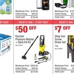 Karcher Pressure Washer + Deck Kit K3 $218.99 @ Costco (Membership Required)