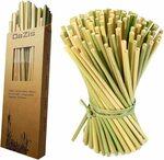 Organic Grass Straws (Reusable/Disposable) 50pk (20cm) $9.99 + Delivery ($0 with Prime/ $39 Spend) @ OaZis via Amazon AU