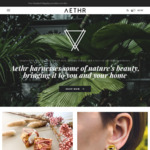 10% off Your First Order + Free Shipping > $50 at Aethr