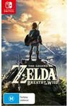 [Switch] The Legend of Zelda: Breath of The Wild $58 @ Harvey Norman