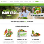 9 Meals $69 or 7 Meals $55 + Delivery @ Youfoodz