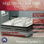 Up to 35% off 7 Zone Pocket Spring Mattresses: from Single $171.92 to King $319.92 + Delivery @ Mattress Crafters eBay