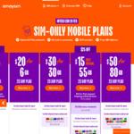 $10 Cashback on amaysim Mobile SIM Only Plan $15 for 65GB, 1st Renewal Only @ Cashrewards & Shopback