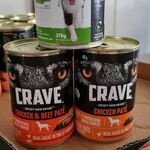 Crave / Applaws - Paté Dog Food $0.25 Per Can (RRP $4.50) @ Coles (Selected Stores)