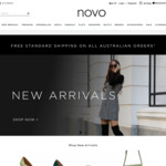 30% off Full-Priced Items, Free Delivery @ Novo Shoes