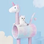 Zeze Unicorn Climbing Cat Scratching Tree $89 Delivered (Was $127.50) @ Ozcat Pet Supplies