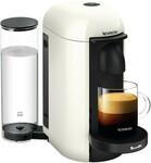 Breville VertuoPlus Solo Nespresso Coffee Machine White (& Red by DeLonghi) $199 ($119 after $80 Nespresso Cashback) @ BIG W
