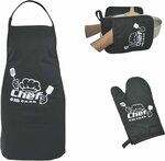 Apron Set $14.99 + Delivery ($0 with Prime/ $39 Spend), 40% Discount Coupon @ Amazon AU (Black Back in Stock)