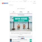 Win $500 'Cash' from Lyfshort