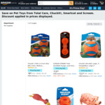 [Prime] Chuckit! 17001 2.5-Inch Ultra Ball 2 Pack, Medium, Orange/Blue $9.80 (Was $10.63) Delivered @ Amazon AU