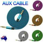 [eBay Plus] AUX 3.5mm M-M Audio Cable $0.59 Delivered @ apple_galaxy_pty_ltd eBay
