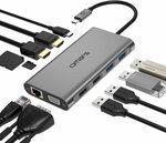 Omars USB C Hub 11 in 1 Triple Display 2x HDMI Dock $72.24 Delivered @ Wellmade Brands AU via Amazon AU