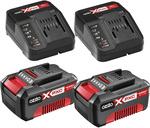 Ozito Twin 4.0ah Battery and Fast Charger Pack $99 @ Bunnings (National)