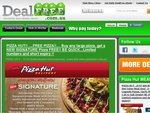 Various Pizza Hut Deals / Coupons !