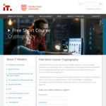 Free University Short Course: Cryptography @ IT Masters