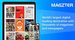 110% Cashback via Shopback on Magzter GOLD  Magazine / Newspaper Subscriptions
