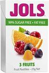 Jols 3 Fruits Fruit Pastilles 23g $1.36 + Delivery ($0 with Prime/ $39 Spend) @ Amazon AU